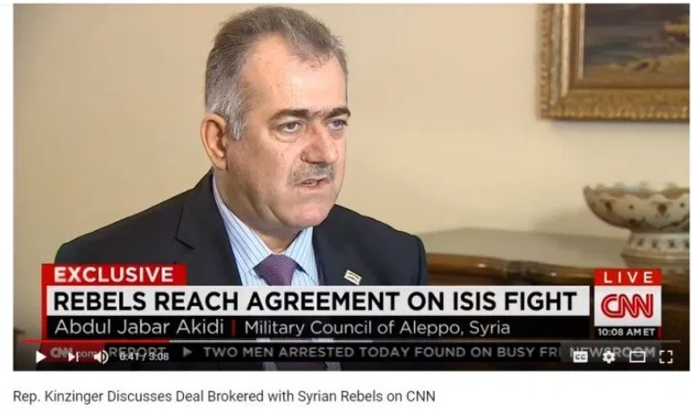 Congress member Kinzinger met with this supporter of ISIS