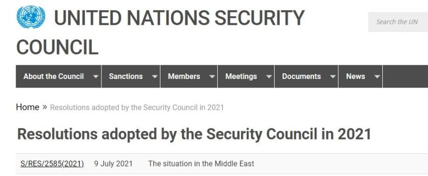 UNSC resolution to save al Qaeda in Idlib