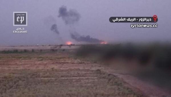 Biden forces bombed in Al Omar oil field - US army - Britain - France NATO