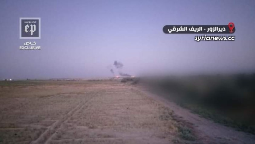 Biden forces in Al Omar oil field bombed on the fourth of july - US army - Britain - France NATO