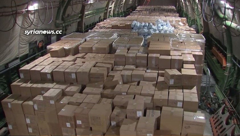 Russia Sends 160 Tons of Humanitarian Aid