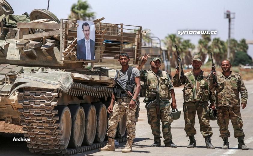 Syrian Arab Army SAA - Daraa, Daraa Balad, Quneitra, Sweida, At Tanf, Idlib, Deir Ezzor, Hasakah, Latakia, Hama, Homs, Damascus, Tartous, Aleppo
