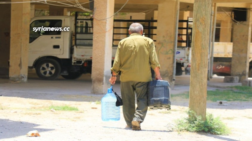 Syrian Red Crescent helps deliver drinking water to 1 million people in Hasakah