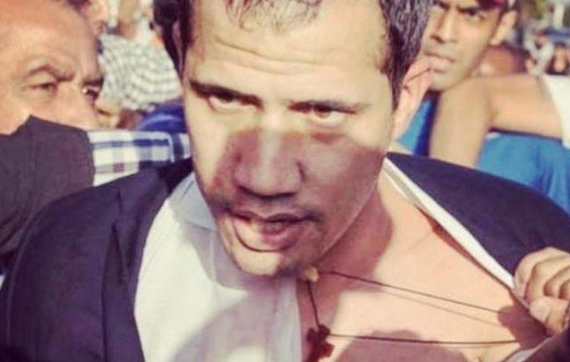 Perrito Guaido welcomed home at the