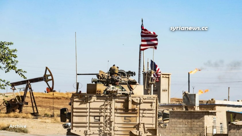 Biden forces steal Syrian oil - US Army