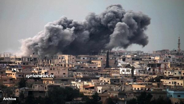 NATO-sponsored Daraa Balad Al Qaeda and ISIS terrorists - Southern Syria - Archive