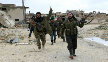 NATO sponsored ISIS and Al Qaeda Terrorists in Daraa southern Syria - archive