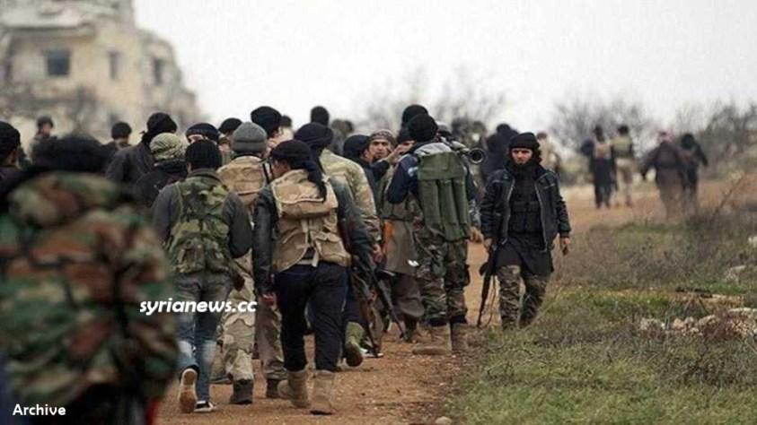 NATO terrorist groups in Syria - Al Qaeda Nusra ISIS HTS