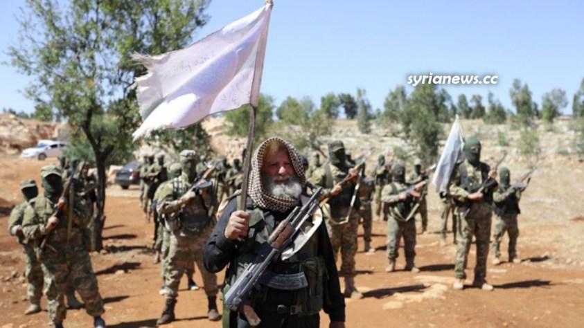 Turkey NATO Sponsored Hayat Tahrir Sham HTS Terrorists in Idlib