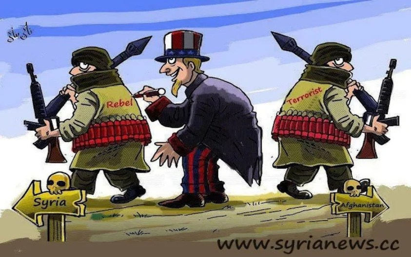 USA good terrorists in Syria - bad terrorists in Afghanistan