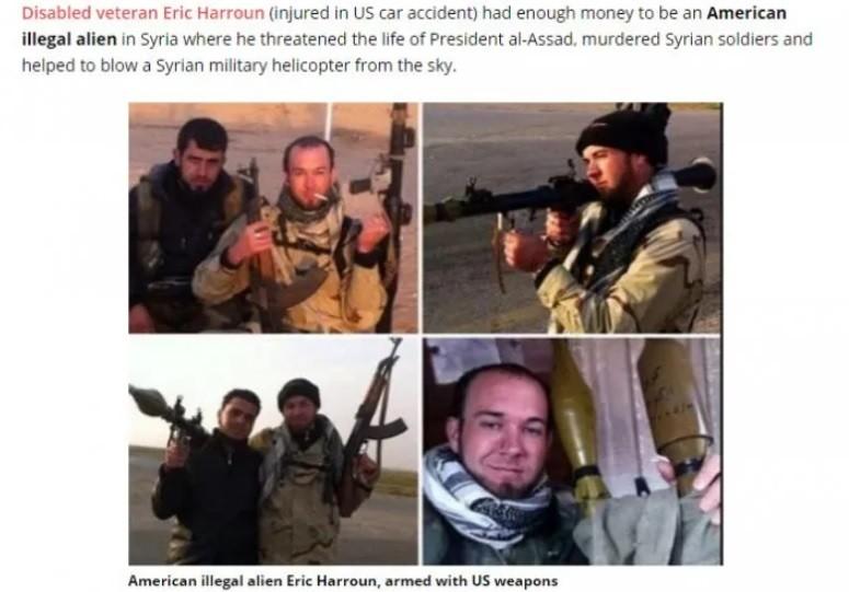 Politicians enraged over the Taliban were silent over American terrorist Harroun in Syria.