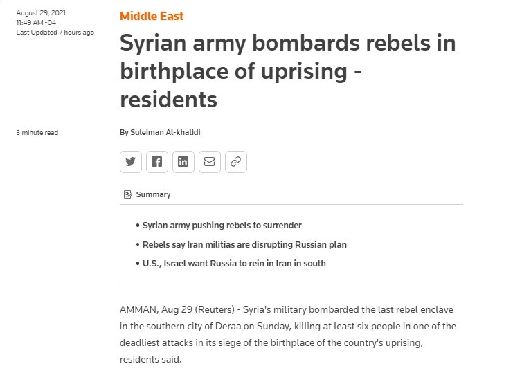 Reuters lied , defended terrorists against murderous crimes.