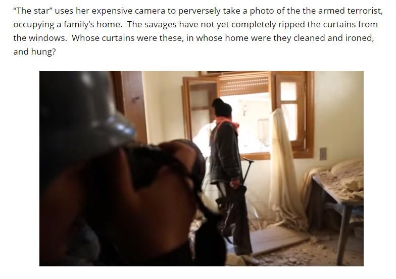 Non-Taliban al Qaeda terrorists occupy and destroy Syrian homes.