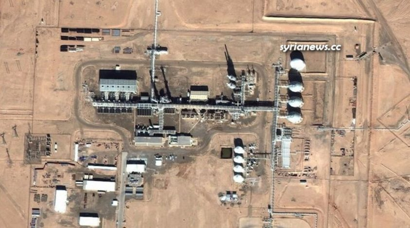 Conoco Gas Field - Deir Ezzor, northern Syria
