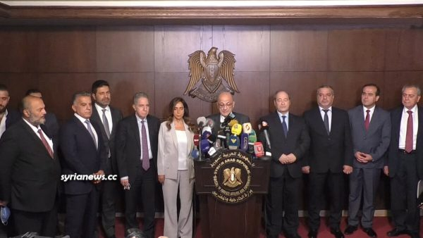 Lebanon ministerial visit to Damascus to seek approval for transmit of gas and electricity via Syria