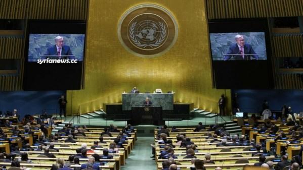 UN SG Antonio Guterres addressed UNGA 76 with lies, threats, and supremacist arrogance