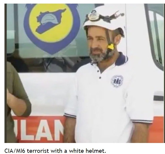 Kidnapper and killer White Helmet supported by NATO junta dictating to UNSC.