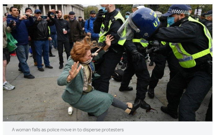No concern from Guterres when western women are brutalized by gestapo cops.