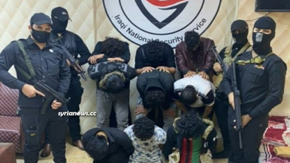 Iraqi National Security Service forces arrest ISIS terrorists