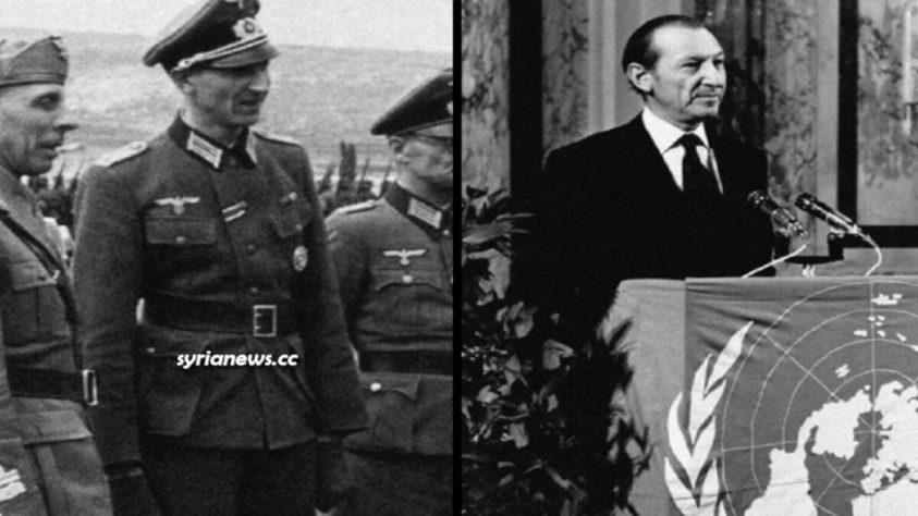Nazi Kurt Waldheim became President of Austria before becoming 4th SG of the UN