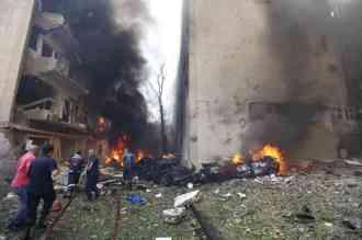 Beirut Lebanon 27 December 2013 Terrorist Attack-4