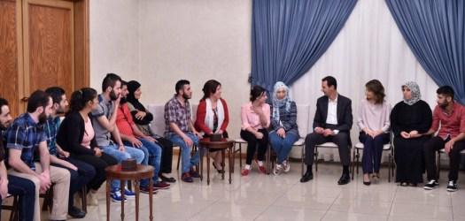 Bashar al-Assad received 34 abducted-17 [1024x768]