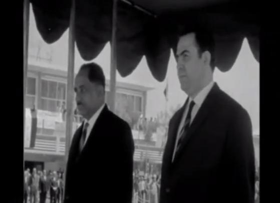 قحطان الشعبي،أول رئيس لجمهورية اليمن الجنوبية والرئيس نور الدين الأتاسي