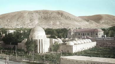 المدرسة السليمانية في دمشق عام 1924