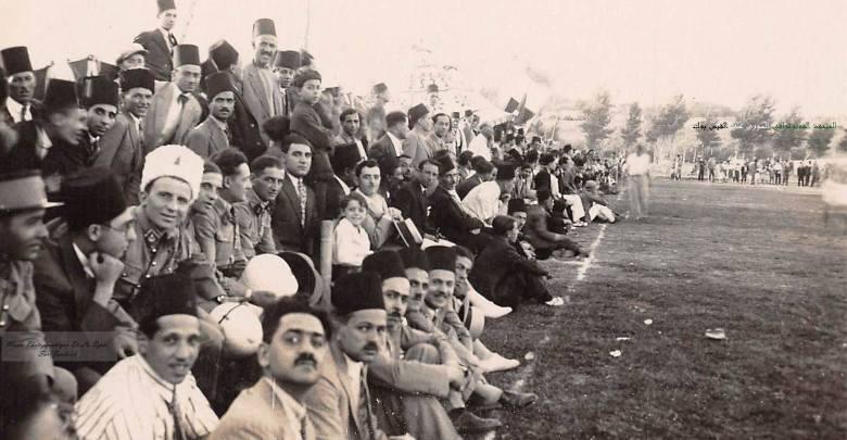 مباراة كرة قدم في دمشق 1942
