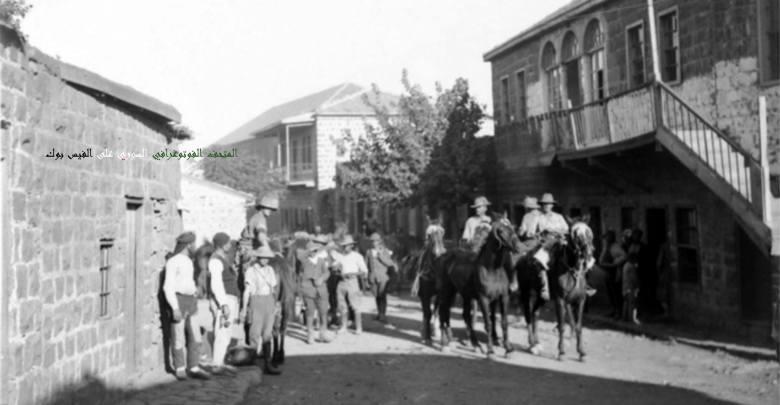 السويداء 1918: دخول القوات الاسترالية
