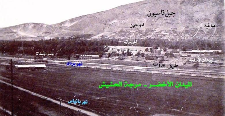 الوالي درويش باشا وجسر عين القصارين
