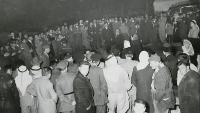 جَكَو (حفل رقص شركسي) في شتاء 1953