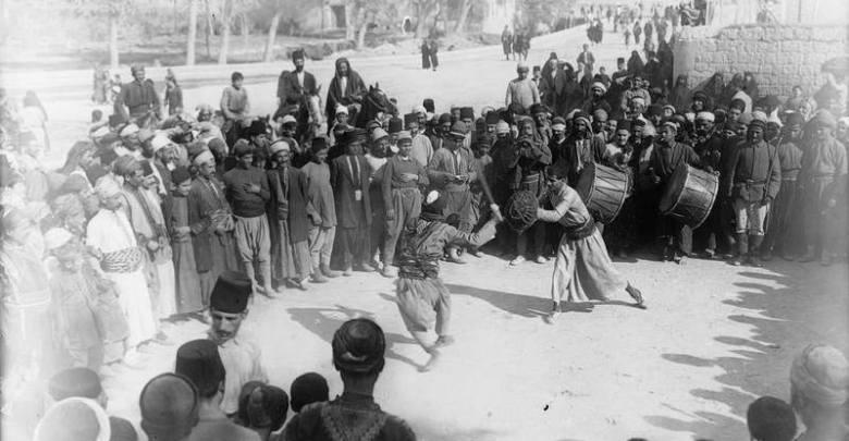 رقصة السيف والترس - حلب 1918 م