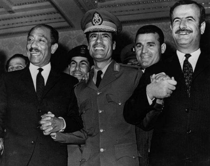 العلاقات السورية - الليبية