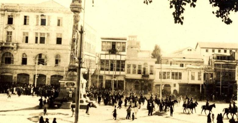 دمشق - دخول القوات البريطانية عام 1918