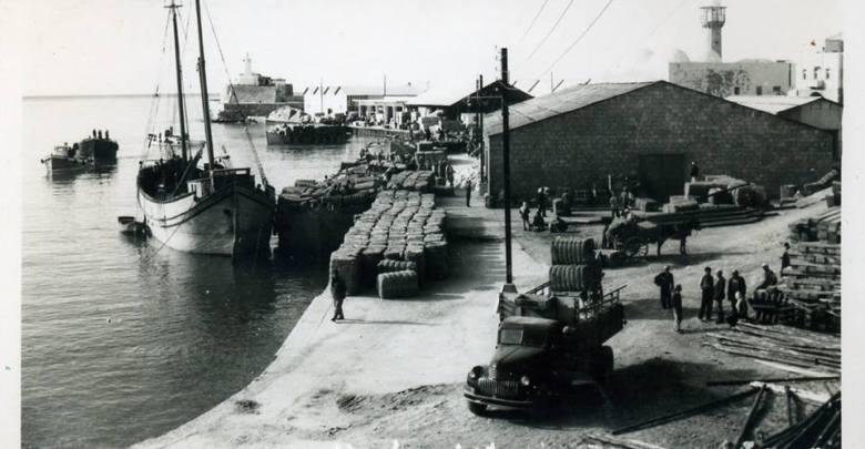 ميناء اللاذقية عام 1952