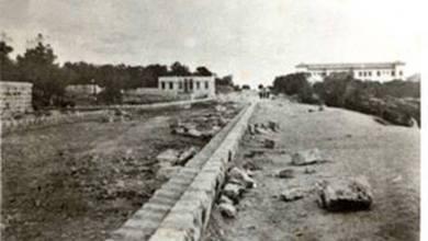 اللاذقية - شارع بغداد في الثلاثينات