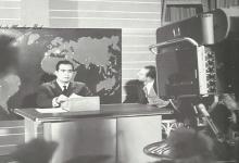 المذيعسامي جانو يعلن افتتاح التلفزيون السوري عام 1960