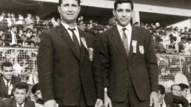 بغداد 1966 - مخلف العمر مع جوزيف أبو مراد
