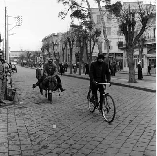Homs 1964: Schukri Al-Quwatli Straße