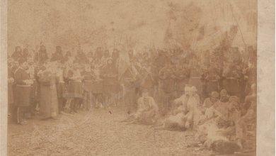 من الأرشيف العثماني 1923 - فرسان عشيرة الميران الكردية