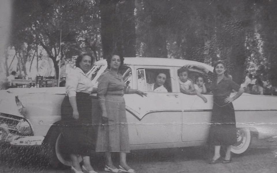 سيدات من عائلة البقاعي - بلودان عام 1965