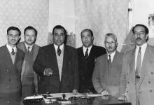 موفق البقاعي في وزارة الداخلية عام 1956