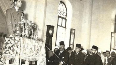 دير الزور - الاحتفال بالمولد النبوي في المسجد الحميدي