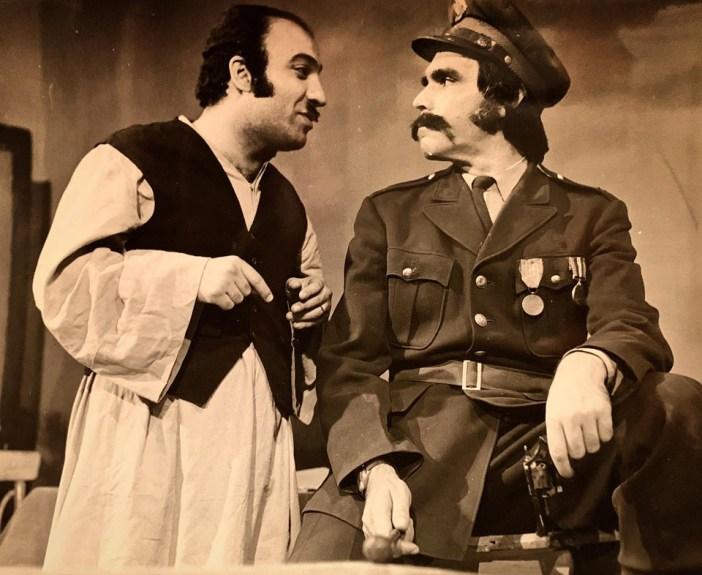 ياسر العظمة مع عصام عبه جي 1973 ..صور تاريخية ملونة