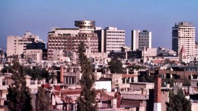 دمشق 1989 - فندق الشام