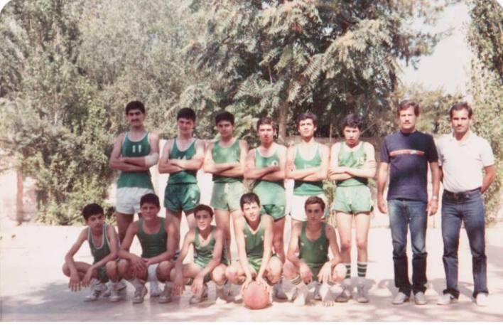 دمشق 1981 -  فريق ناشئي نادي الوحدة في كيوان