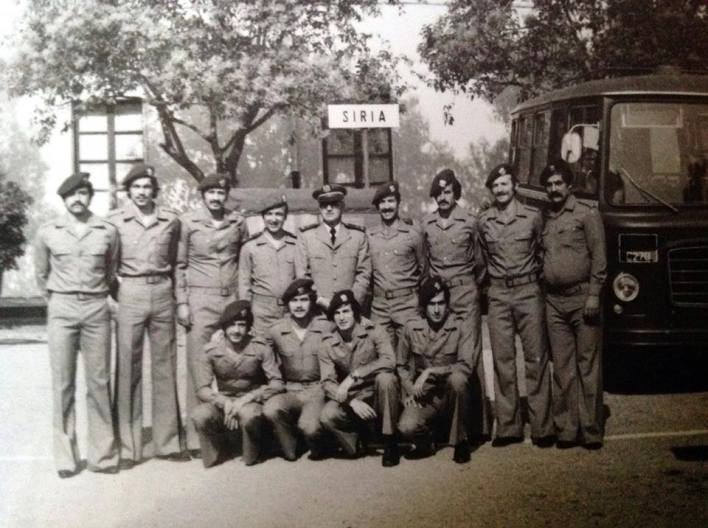 منتخب سورية بالكرة الطائرة في بطولة العالم العسكرية - ايطاليا 1977