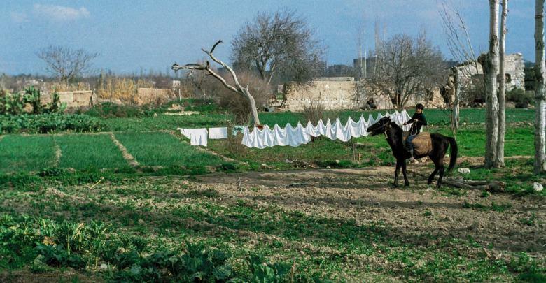 دمشق بساتين أبو جرش - عام 1983