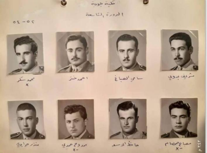 طلاب دورة 1952 - 1954- طيارون حربيون
